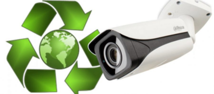 ECO Friendly CCTV Camera